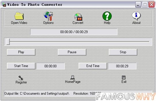 Video To Photo Converter