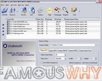WMV to AVI DIVX MP4 MPEG RMVB Converter